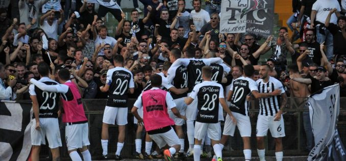 Serie B, Ascoli-Entella 0-0: i marchigiani tengono il pari, l'Entella dice addio alla B