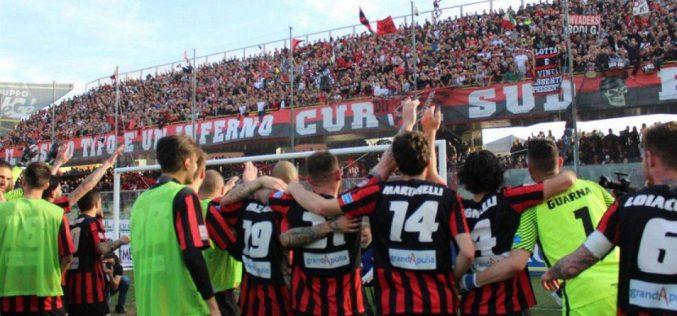 Foggia-Catania, vendita libera dei biglietti da venerdì. Tutte le info