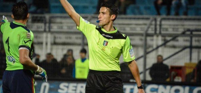 Foggia-Padova dirige il sig. Antonio Di Martino