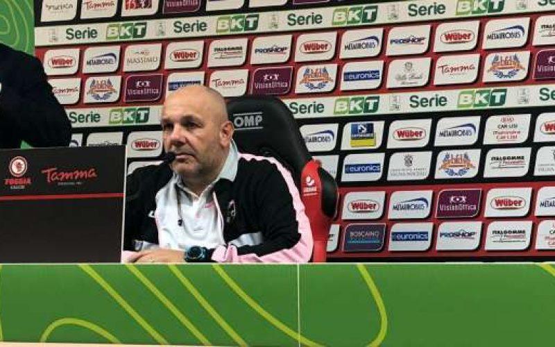"""Foggia-Palermo, Tedino: """"I rossoneri arrivano ai play-off, sono sicuro"""""""