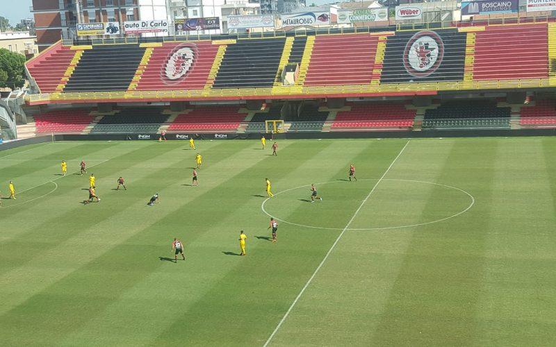 Ripresa degli allenamenti in vista del Palermo