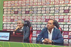 """Giannetti e Ardito: """"Contenti del lavoro fatto. Siamo stati bene qui a Foggia. Crediamo in una riduzione ulteriore dei punti di penalizzazione"""""""