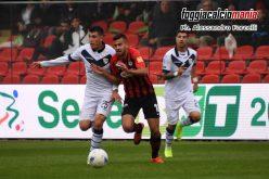 Foggia, altro pari subito in rimonta: contro il Brescia è 2-2