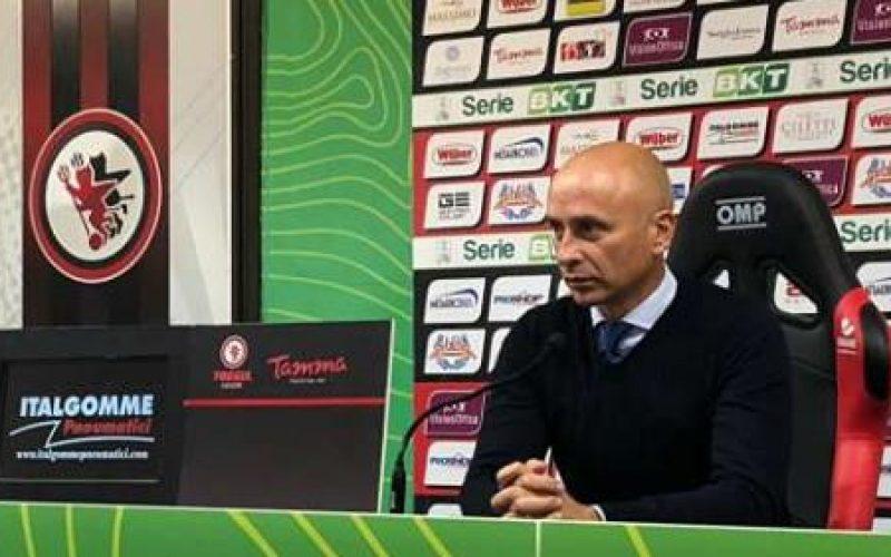 """Brescia, Corini: """"Il Foggia non è stato penalizzato dall'arbitraggio"""""""