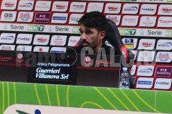 """Foggia, Grassadonia: """"Buon primo tempo, il gol del pari ha influito"""""""