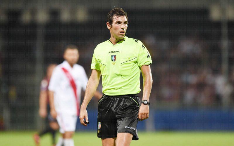 Livorno-Foggia dirige Juan Luca Sacchi di Macerata