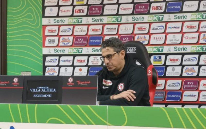 """Foggia, Padalino: """"Il gol preso subito ci ha tagliato le gambe"""""""