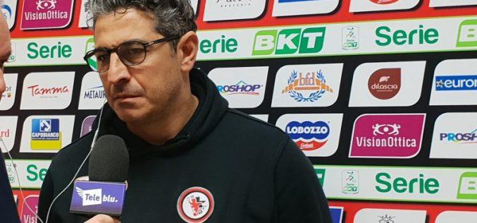 """Padalino: """"Dal punto di vista caratteriale non posso rimproverare niente alla squadra"""""""
