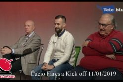 Intervista a Lucio Fares – Kick off 11/01/2019