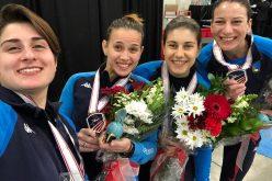 Coppa del mondo di scherma, la foggiana Martina Criscio sale sul podio: bronzo a squadre a Salt Lake City