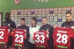 Conferenza stampa di Ingrosso, Marcucci, Bilong e Matarese