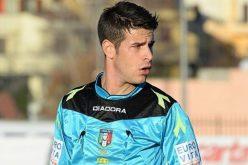 Ascoli-Foggia dirige Antonio Giua della sezione di Olbia