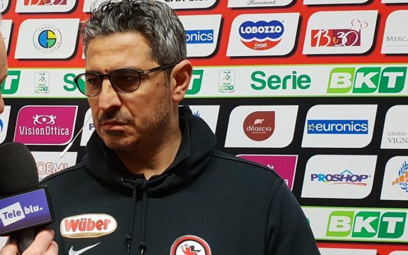 """Padalino: """"Ci abbiamo creduto fino alla fine ed abbiamo trovato il pareggio"""""""