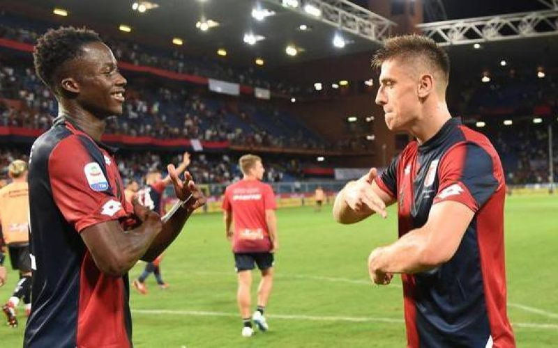 "Genoa, Kouamè: ""Mercato? Ho sempre pensato a giocare"""