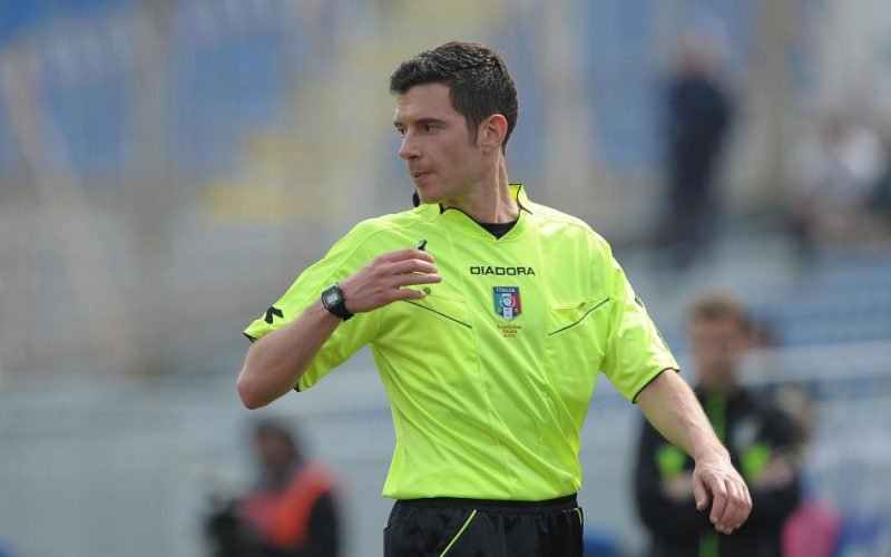 Palermo-Foggia dirige Davide Ghersini di Genova