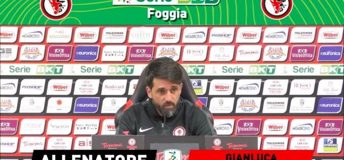 """Alla vigilia di Brescia-Foggia, le parole di mister Grassadonia: """"Dobbiamo fare una grande partita"""""""