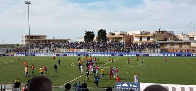 Il big match del 'Monterisi' è gialloblù: il Cerignola piega 3-1 il Picerno