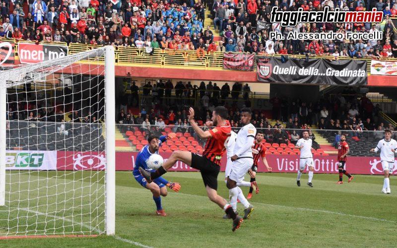 Foggia-Spezia 1-0: Iemmello salva i rossoneri nel finale