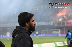 """Foggia, Grassadonia: """"Poco da rimproverare. La squadra ci ha messo l'anima"""""""