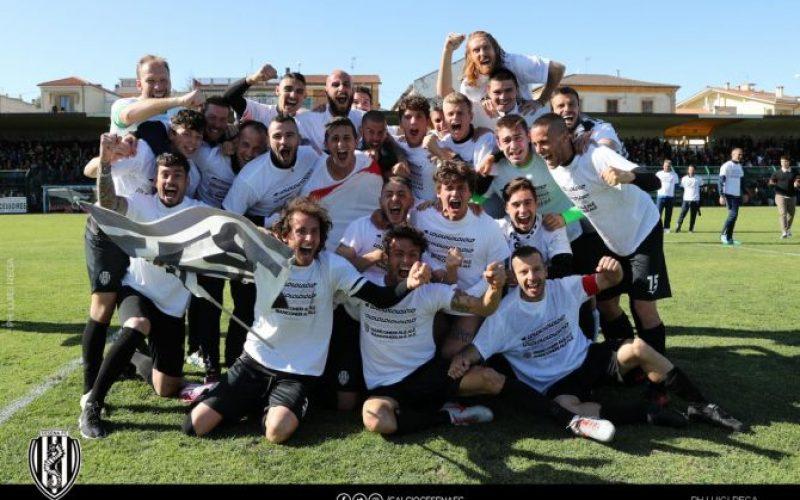 Il Cesena è in Serie C: che festa in campo