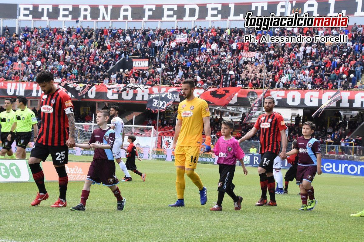 Serie B: Stagione 2018-2019 – Le foto di Foggia-Salernitana
