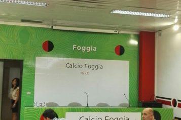 Conferenza spampa Calcio Foggia 1920
