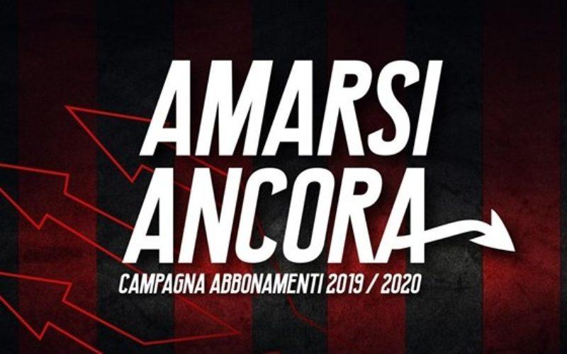 """Foggia, presentata la campagna abbonamenti """"Amarsi ancora"""""""