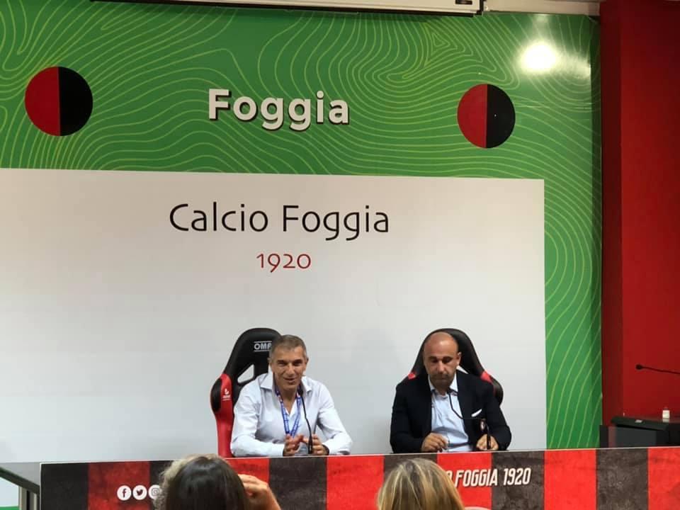 Presentato il nuovo Club Manager del Calcio Foggia 1920