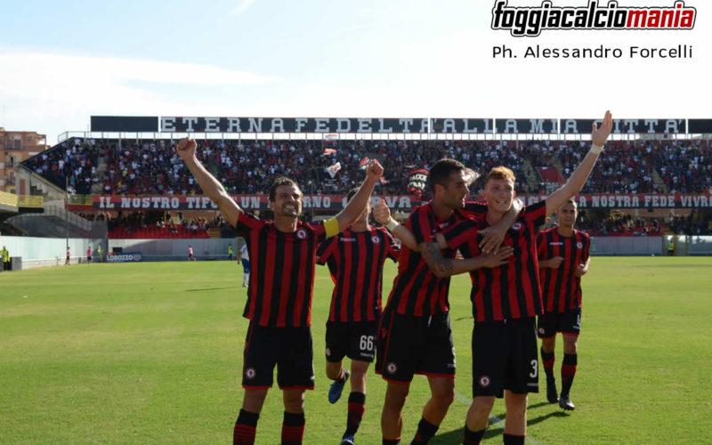 Nocerina – Foggia. Big match della terza giornata: ecco i precedenti