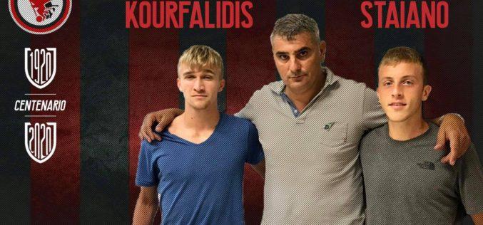 Ufficiale: Gli under Kourfalidis e Staiano in rossonero