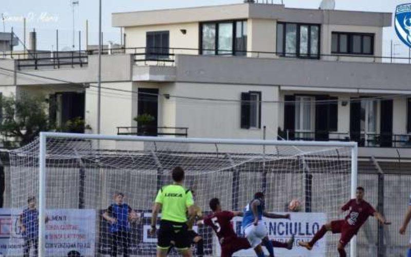 """Brindisi, D'Ancora sale a quota tre. Profetico Dionisio: """"Sarà il nostro bomber"""""""