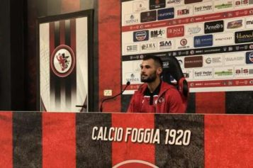 """Foggia, Tortori: """"Il gol? Un'emozione indescrivibile"""""""