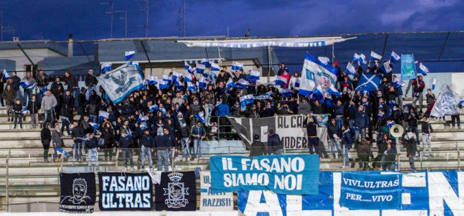 Fasano, contro il Taranto rientra Bernardini. Out Diop, un altro in dubbio