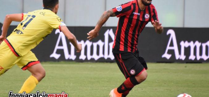 Foggia-Taranto 1-0 Un lampo di Tortori nel recupero decide il derby