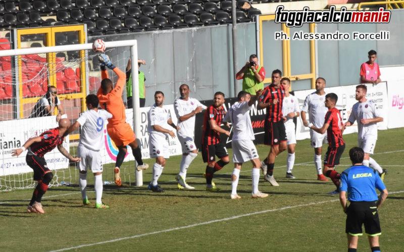 Foggia-Casarano 1-1 I salentini strappano un punto allo Zaccheria