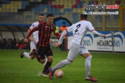 Foggia-Team Altamura 1-0, la decide Gentile nel pantano dello Zac: è primo posto momentaneo