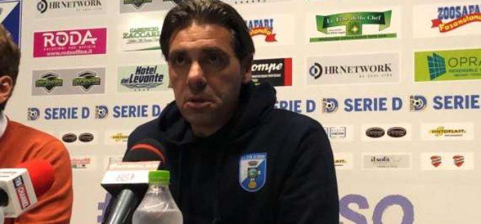 """Fasano, Laterza: """"Il gol ci ha dato fiducia. Giocata di Cavaliere tecnicamente perfetta"""""""