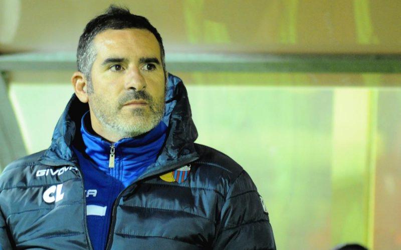 """Catania, Lucarelli: """"Non è stata una passeggiata, avanti così"""""""