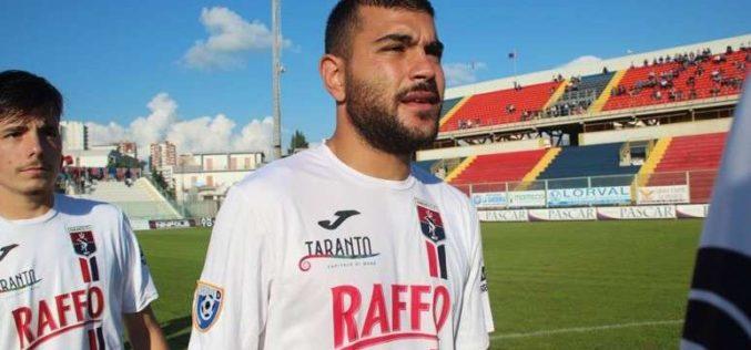 Taranto, l'ex Favetta beffa gli jonici nel finale