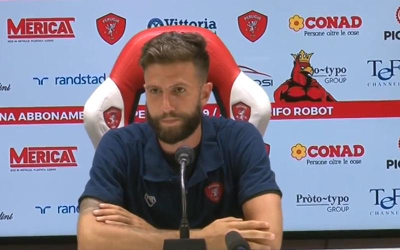 """Perugia, Iemmello: """"Abbiamo saputo soffrire, il Benevento insegna che in B ci si difende in 11"""""""