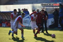 """Il Foggia riparte: allo """"Zac"""" Gelbison sconfitta 3-0"""