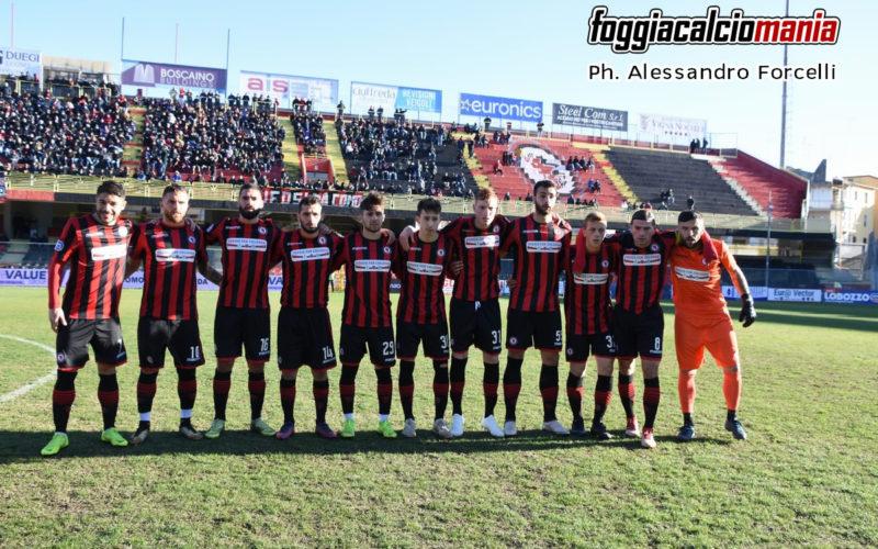 Il Foggia pareggia ancora: termina 0-0 ad Agropoli