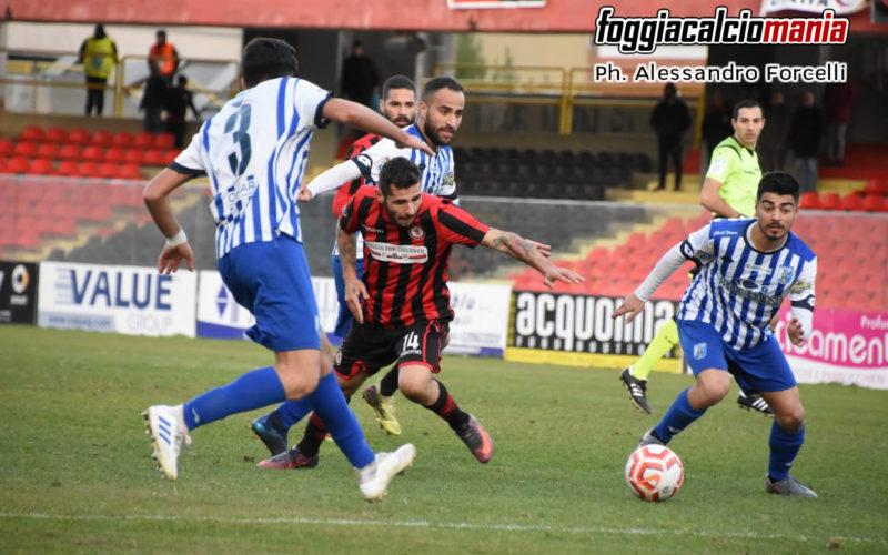 """Il Foggia acciuffa il pari al 93′: allo """"Zac"""" è 2-2 col Fasano"""