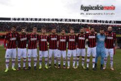 Foggia-Audace Cerignola: le formazioni ufficiali