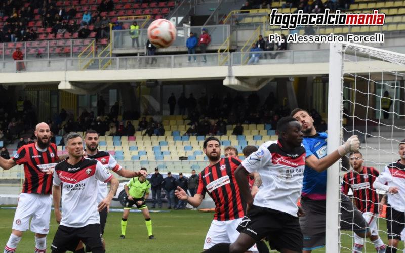 Foggia – Nocerina 2 – 0 Il Foggia ritrova i tre punti
