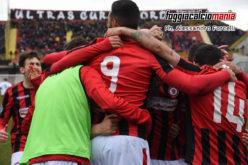 """Cittadino e Kourfalidis stendono la Nocerina: è 2-0 allo """"Zaccheria"""""""