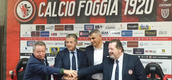Presentato il nuovo main sponsor del Calcio Foggia 1920 che comparirà sulle maglie rossonere