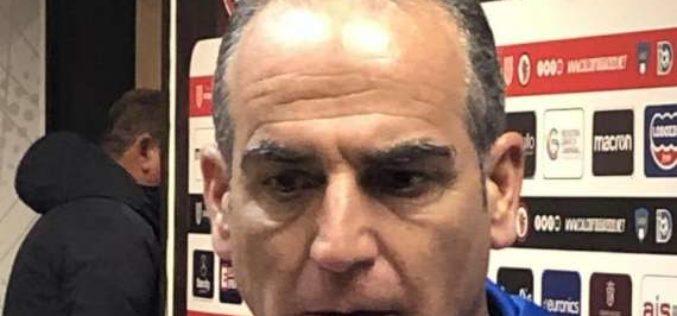 """Brindisi, Ciullo: """"Arrabbiato per l'arbitraggio"""""""