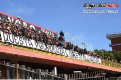 Casarano-Foggia: trasferta libera per i tifosi rossoneri