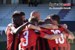Il Foggia supera la pratica Nardò: 2-0 rossonero